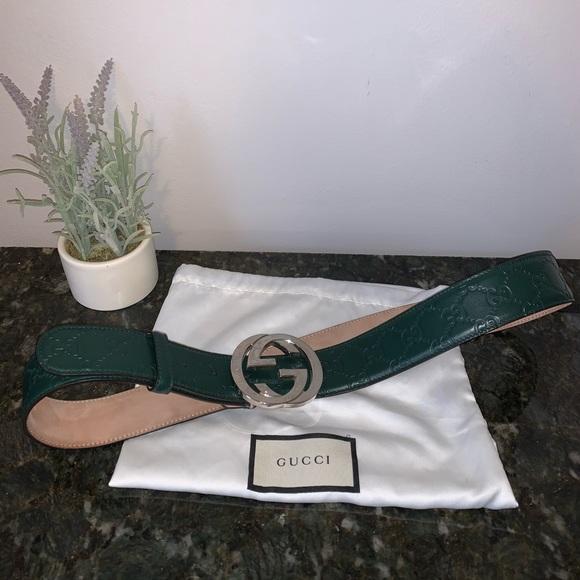 Gucci Other - Gucci Men's Guccissima Belt